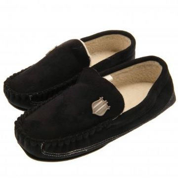 Newcastle United Moccasins BLK Size 11/12